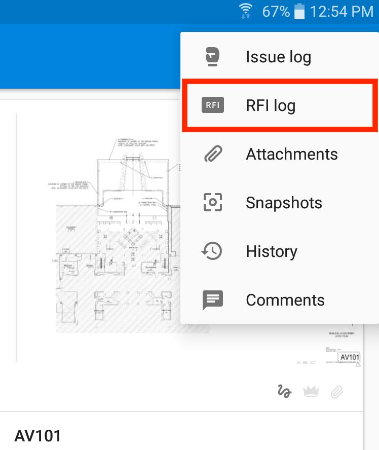 Legacy RFIs: Creating, Editing and Sharing – PlanGrid