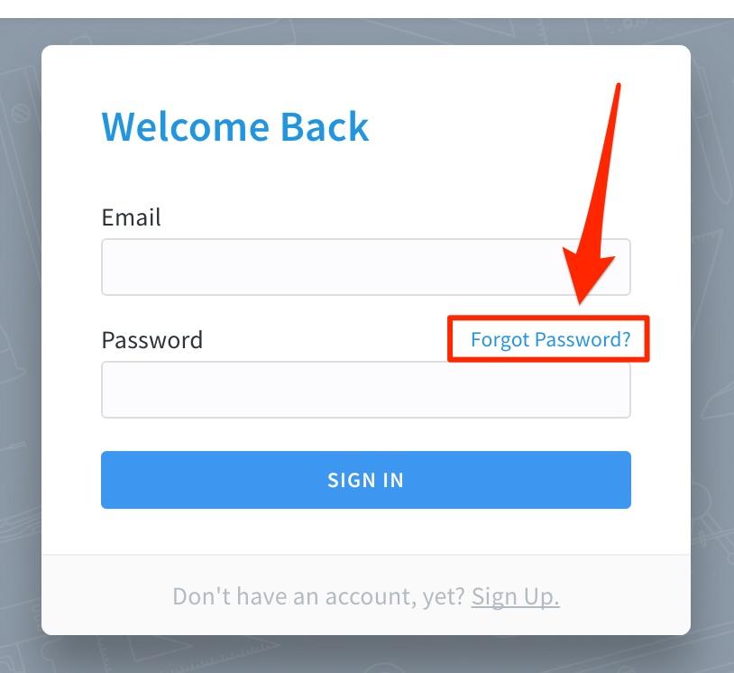 I forgot my password! – PlanGrid