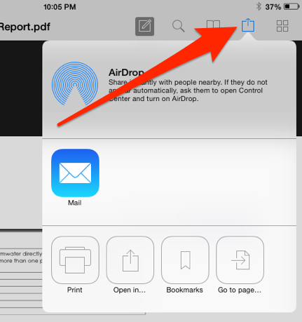 how to find documents on ipad
